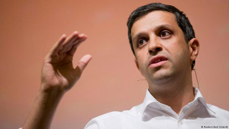 Berlins SPD-Fraktionschef Raed Saleh; Foto: Reuters/Axel Schmidt