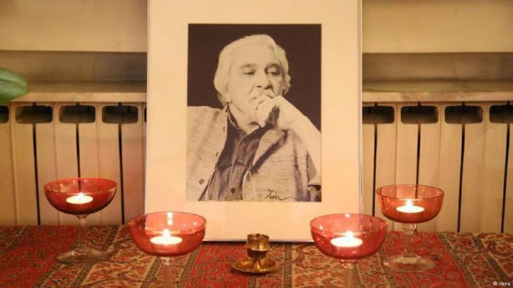 Trauer um den iranischen Philosophen Dariush Shayegan; Foto: IBNA