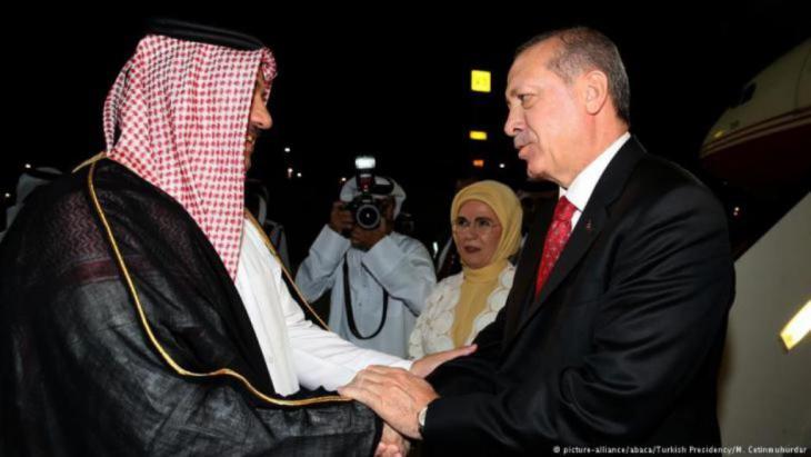 Der türkische Präsident Erdogan besucht Doha am 4.11.2017.