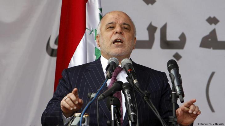 Iraks Ministerpräsident Haider al-Abadi; Foto: Reuters