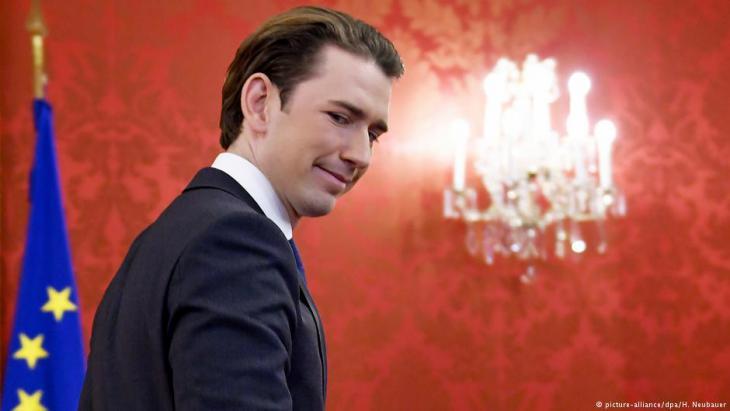 Bundeskanzler Sebastian Kurz; Foto: picture-alliance/dpa