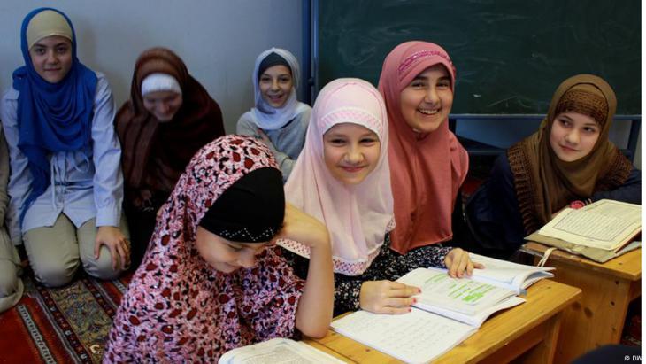 Muslimische Mädchen in Österreich; Foto: DW