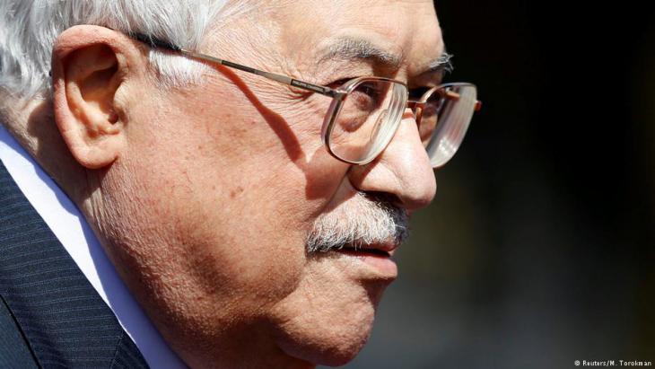 Palästinenserpräsident Mahmud Abbas; Foto: Reuters