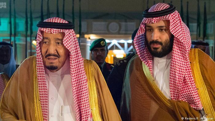 Saudi-Arabien König Salman und Kronprinz Mohammed bin Salman; Foto: Reuters