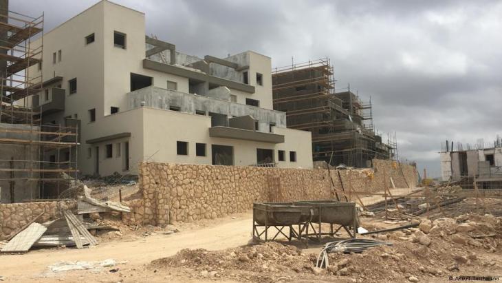 Jüdische Siedlung Lechem; Foto: ARD/T.Teichmann