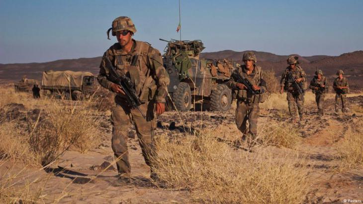Französische Truppen in Mali im Jahr 2013; Foto: REUTERS/Francois Rihouay