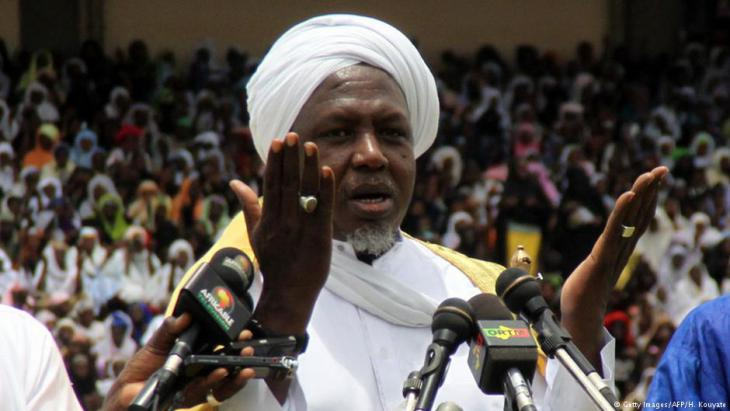 Malis Imam Mahmoud Dicko; Foto: Getty Images/AFP/H. Kouyate