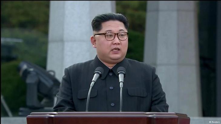 Nordkoreas Diktator Kim Jong Un; Foto: Reuters