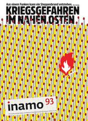 """Inamo-Ausgabe 93: """"Kriegsgefahren im Nahen Osten"""""""