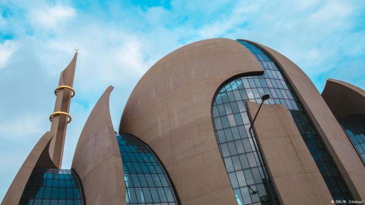 Ditib-Moschee in Köln; Foto: DW