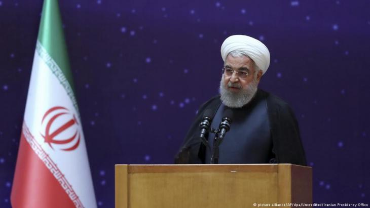 Irans Präsident Hassan Rohani; Foto: picture-alliance/dpa/AP