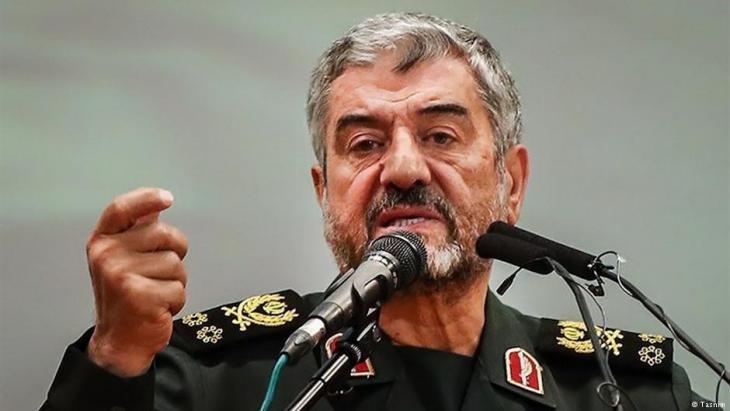 Kommandeur der Revolutionsgarden, Mohammed Ali Jafari; Foto: Tasnim