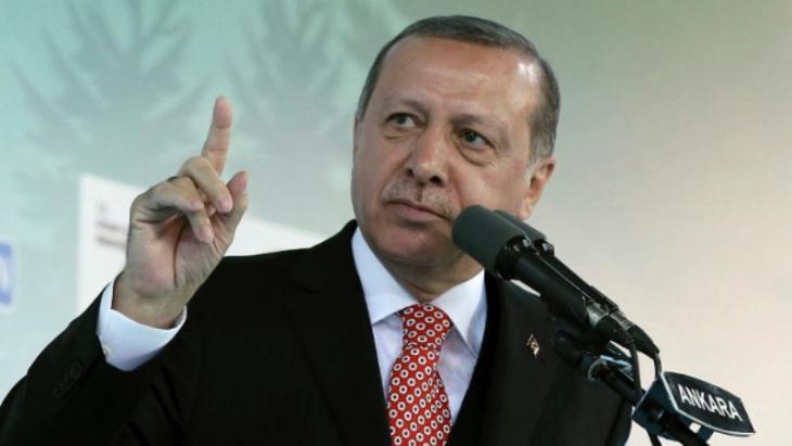 Der türkische Präsident Recep Tayyip Erdogan; Foto: AP/dpa