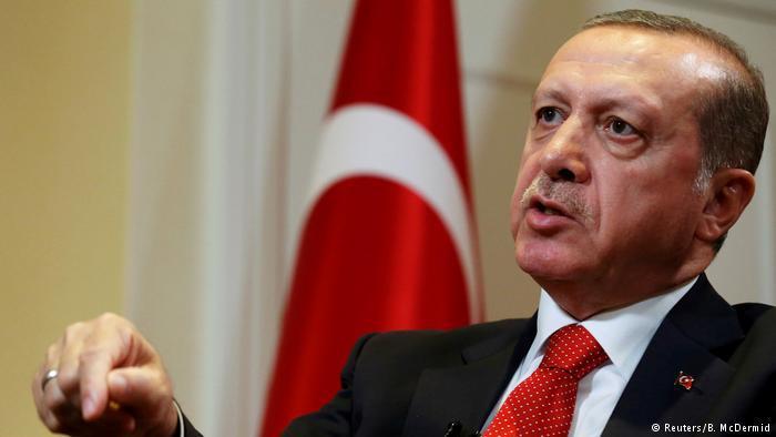 Der türkische Präsident Recep Tayyip Erdoğan; Foto: Reuters