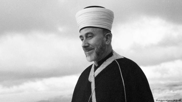 Der Mufti von Jerusalem, Haj Amin al-Husseini, am 9. Oktober 1947; Foto: picture-alliance/AP