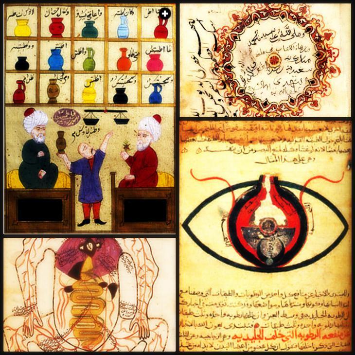 Muslimische Gelehrte der Medizin; Quelle: Bund für islamische Bildung