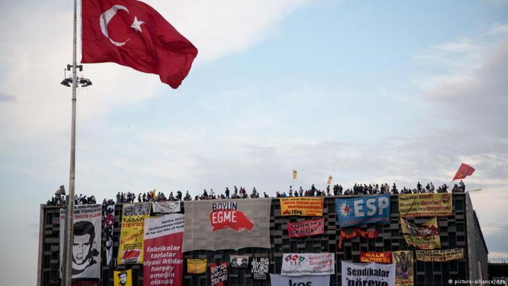 Das AKM während der Gezi-Park-Proteste; Foto: picture-alliance/dpa