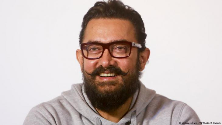 Bollywood-Superstar Aamir Khan; Foto: picture-alliance/AP