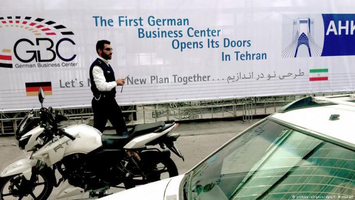 Business Center für deutsche Unternehmen im Iran; Foto: