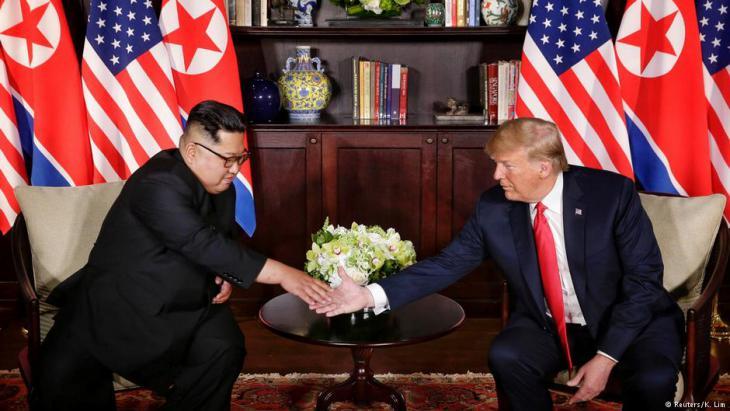 Singapur: USA-Nordkorea-Gipfel mit Donald Trump und Kim Jong Un; Foto: Reuters