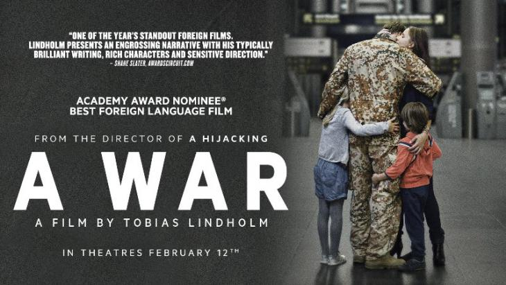 "Film-Plakat Tobias Lindholm: ""A War"" (""Krigen""); Quelle: YouTube"