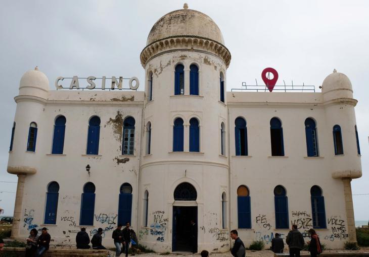 Das ehemalige Casino von Hammam-Lif; Foto: Sarah Mersch