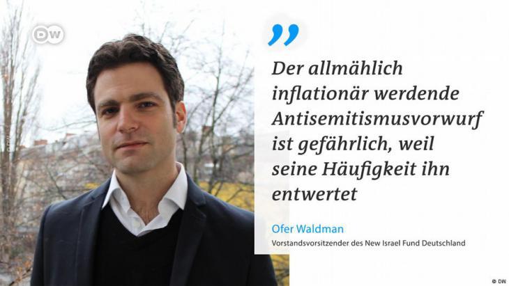 DW-Twittercard Ofer Waldman; Foto: DW