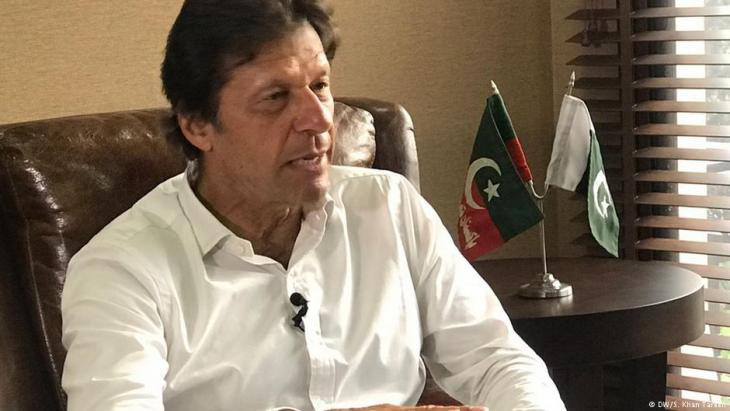 Imran Khan; Foto: DW