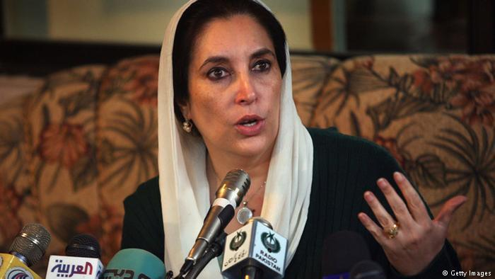 Benazir Bhutto; Foto: Getty Images