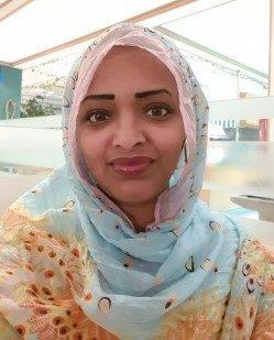 Die sudanesische Autorin Lubna Isam; Foto: Lubna Isam
