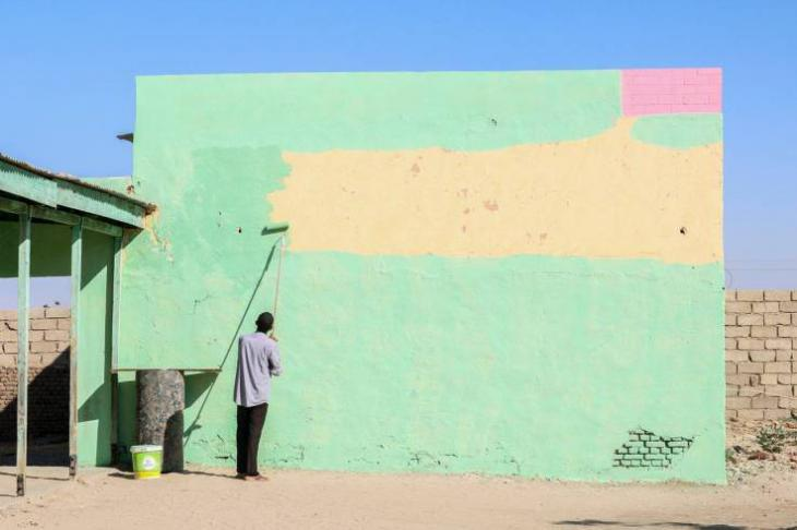Freiwilligenarbeit in Khartum, Sudan; Foto: C. Faris Elshegil
