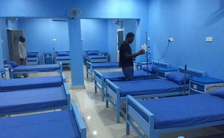 Ein durch Crowd-funding finanziertes Krankenhaus im Sudan; Foto: Hawadith Street Initiative/Facebook