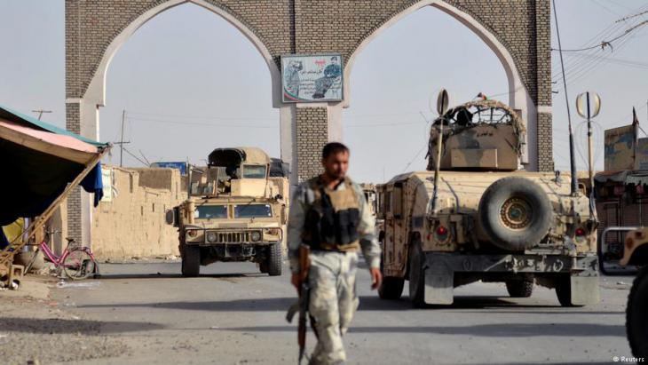 Regierungstruppen erobern die ostafghanische Stadt Ghasni 1m 12. August 2018 zurück; Foto: Reuters