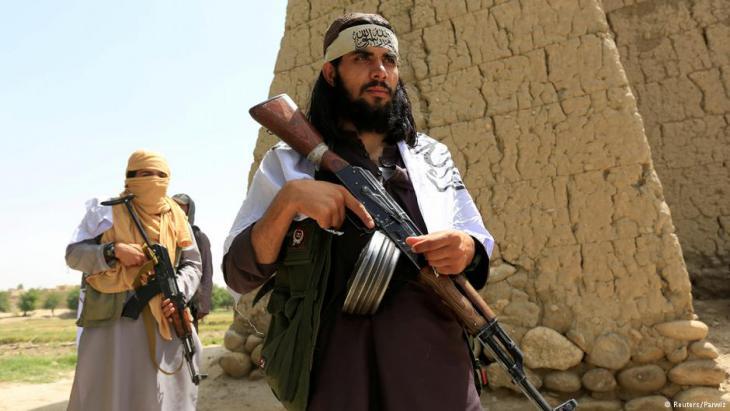 Taliban-Kämpfer während der Waffenruhe im Fastenmonat Ramadan Mitte Juni, Foto: Reuters/Parwiz