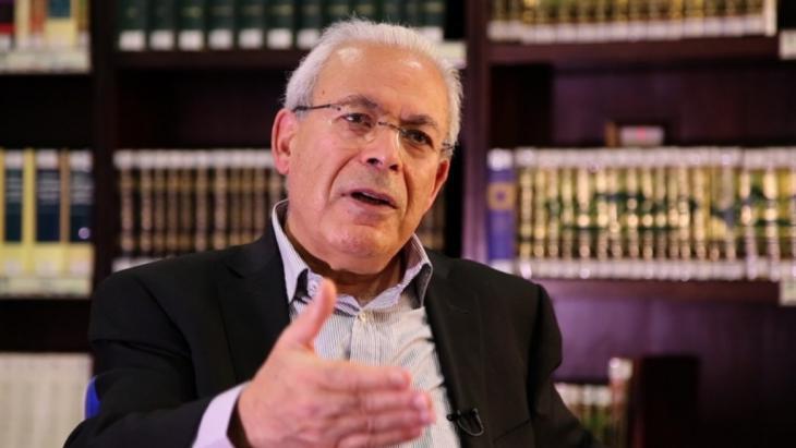 Der französisch-syrische Soziologieprofessor Burhan Ghalioun; Foto: bourhanghalioun.net