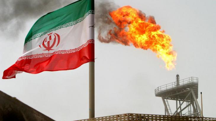 Erdölfelder von Soroush, Iran; Foto: Reuters/R. Homavandi