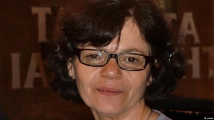 Die Frauenrechtlerin und Aktivistin Monireh Baradaran; Foto: DW