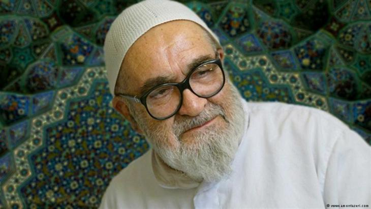 Großayatollah Hussein Ali Montazeri; Quelle: amontazeri.com