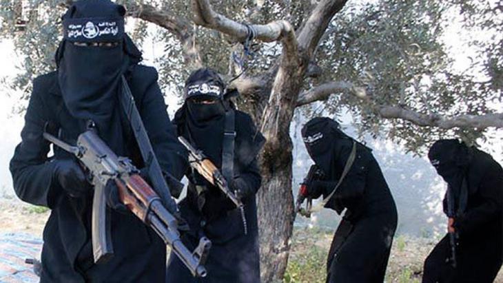 IS-Dschihadistinnen; Foto: dpa/picture-alliance/SyriaDeeply.org