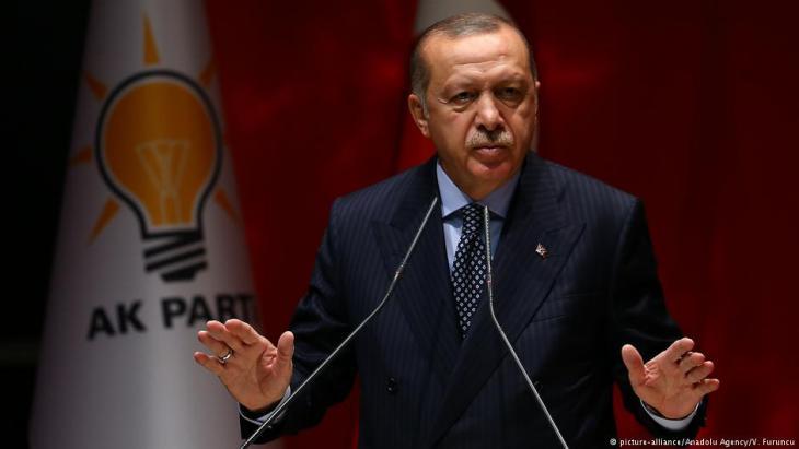 Der türkische Präsident Recep Erdoğan; Foto:picture-alliance
