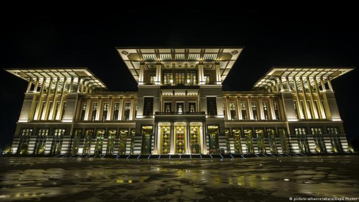 Der Präsidentenpalast in Ankara; Foto: picture-alliance/abaca