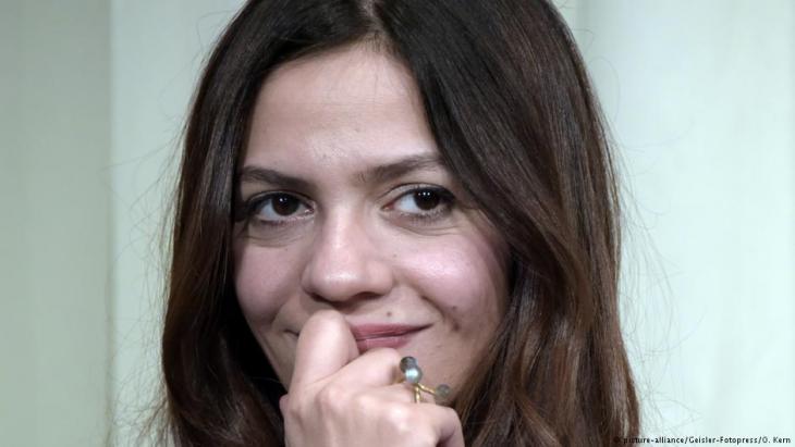 Die syrische Autorin Dima Wannous; Foto: picture-alliance