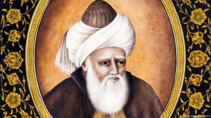Der Sufi-Gelehrte Dschalāl ad-Dīn ar-Rūmī; Foto: dpa/CPA Media