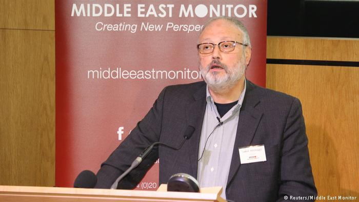 Der saudische Journalist Jamal Khashoggi; Foto: Reuters/Middle East Monitor