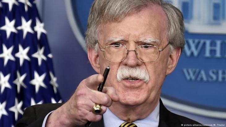 US-Sicherheitsberater John Bolton; Foto: picture-alliance