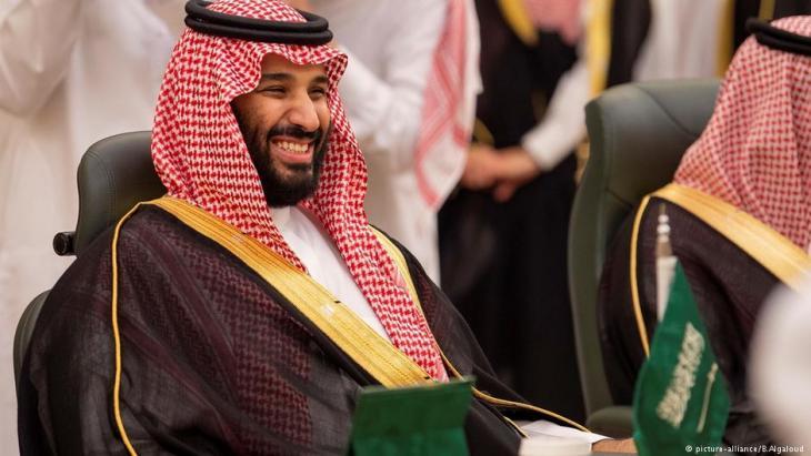 Der saudische Kronprinz Mohammed bin Salman; Foto: picture-alliance