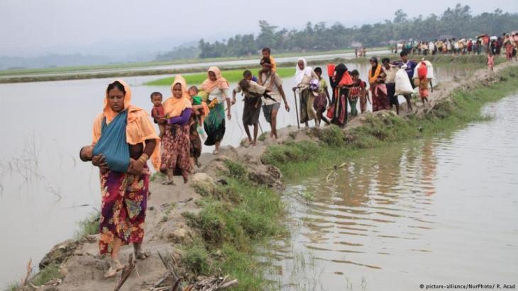 Viele geflohene Rohingya-Frauen teilen ein ähnliches Schicksal wie das, das Fatima durchlitten hat. Picture alliance/NurPhotos/R.Asad