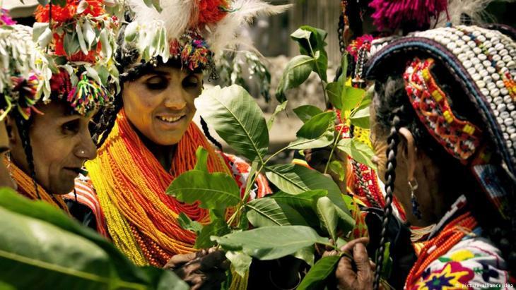 Stamm der Kalash in Pakistan; Foto: picture-alliance/dpa