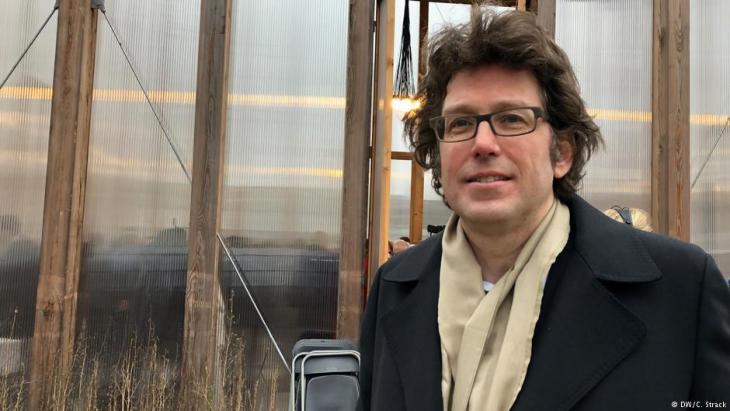 Architekt Wilfried Kuehn; Foto: DW/Christoph Strack