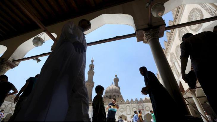 Die Al-Azhar-Moschee in Kairo; Foto: Reuters/Mohamed Abd el Ghany